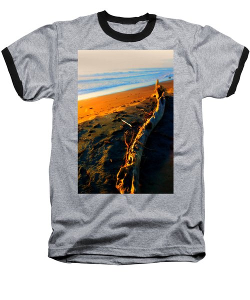 Baseball T-Shirt featuring the photograph Hokitika Beach New Zealand by Amanda Stadther
