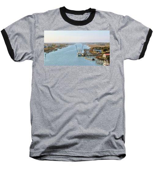 Holden Beach In Nc Baseball T-Shirt by Cynthia Guinn