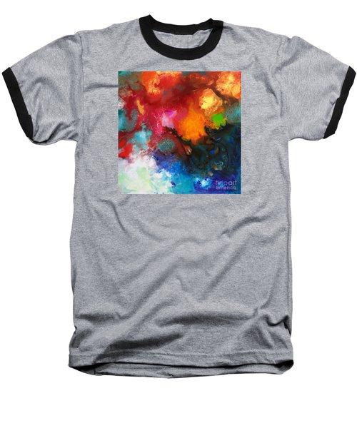 Holding The High Watch Canvas Three Baseball T-Shirt
