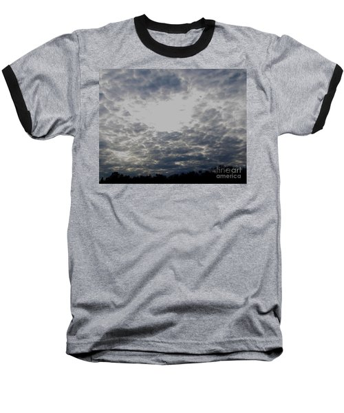 Hole In The Sky Baseball T-Shirt