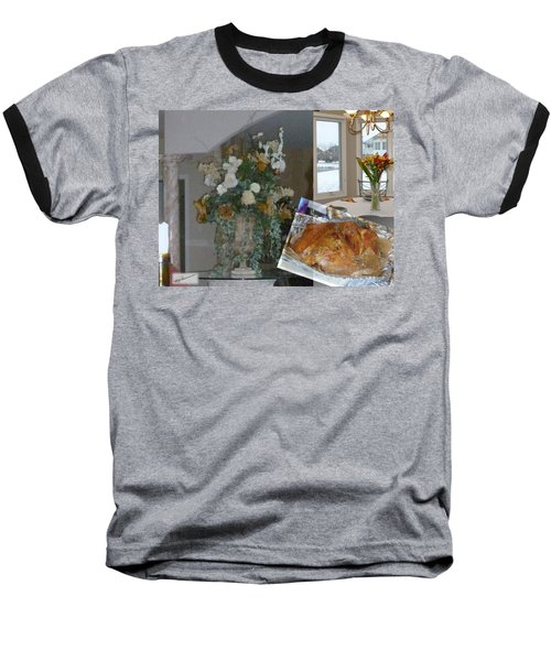 Holiday Collage Baseball T-Shirt