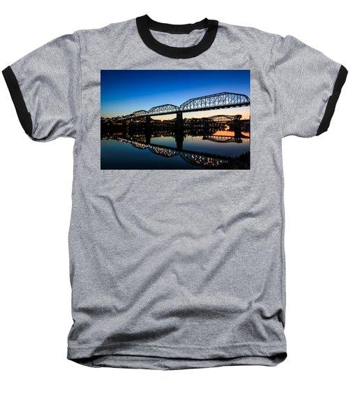 Holiday Lights Chattanooga Baseball T-Shirt