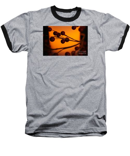 Baseball T-Shirt featuring the photograph Holiday Warmth 2 by Linda Shafer