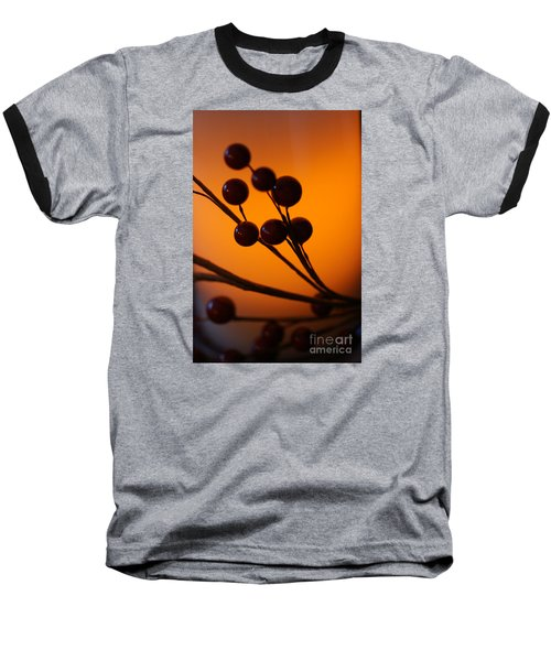 Baseball T-Shirt featuring the photograph Holiday Warmth 3 by Linda Shafer