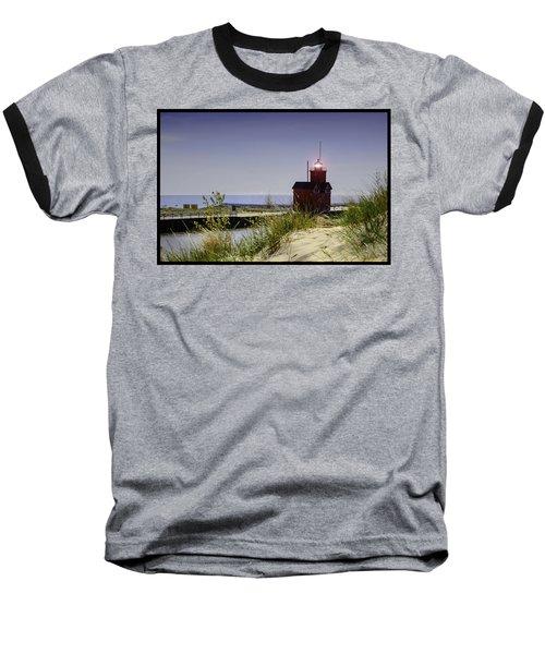 Holland Harbor Light  Baseball T-Shirt