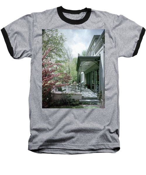 Hollis Baker's Patio Baseball T-Shirt