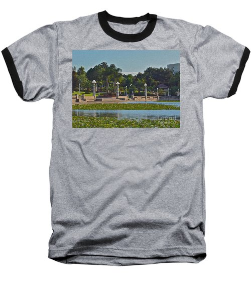 Hollis Gardens II Baseball T-Shirt by Carol  Bradley