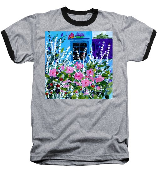 Hollyhock Alley  Baseball T-Shirt