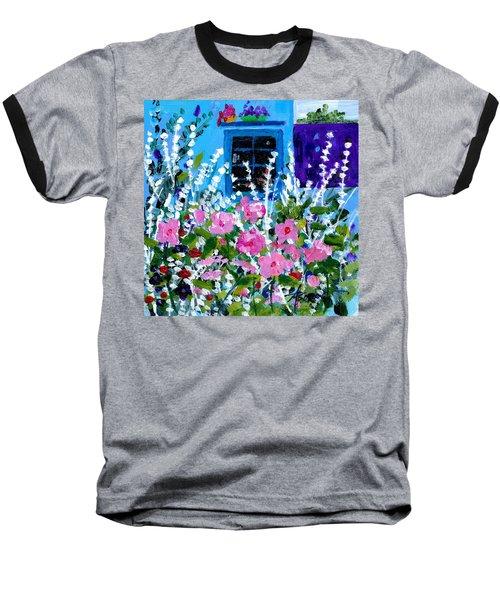 Hollyhock Alley  Baseball T-Shirt