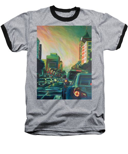 Hollywood Sunshower Baseball T-Shirt