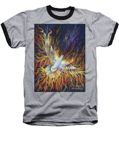 Holy Fire Baseball T-Shirt
