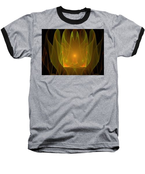 Holy Ghost Fire Baseball T-Shirt by Bruce Nutting