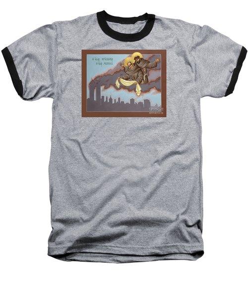 Holy Passion Bearer Mychal Judge 132 Baseball T-Shirt by William Hart McNichols