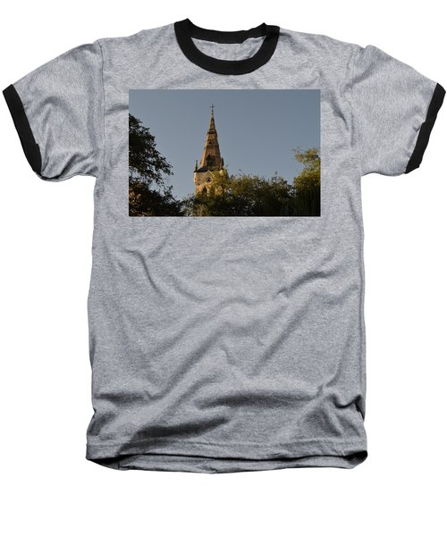 Baseball T-Shirt featuring the photograph Holy Tower   by Shawn Marlow