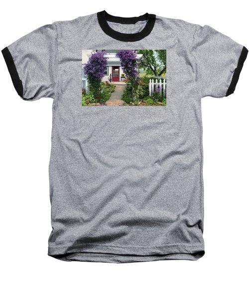 Home Baseball T-Shirt by Bruce Morrison
