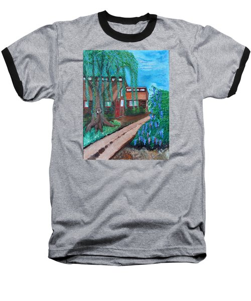 Home Baseball T-Shirt by Cassie Sears
