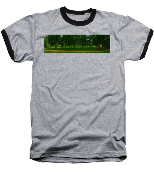 Home Circle II Baseball T-Shirt by Lanita Williams
