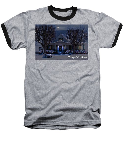 Baseball T-Shirt featuring the photograph Home For Christmas by Bonnie Willis