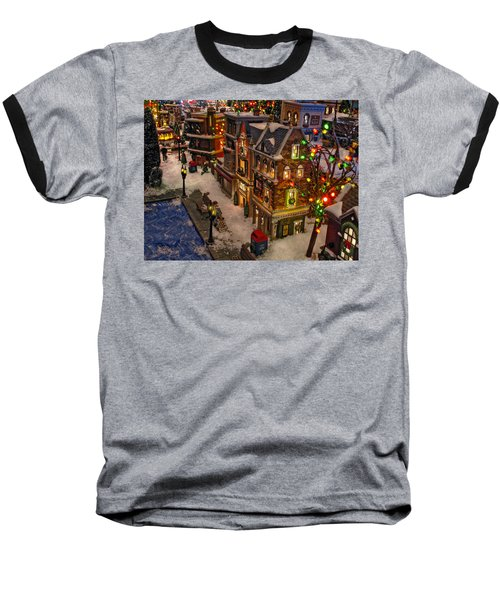 Baseball T-Shirt featuring the photograph Home For The Holidays by GJ Blackman
