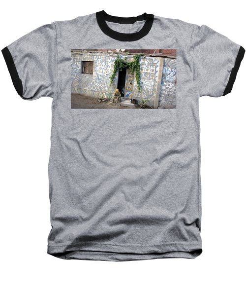 Baseball T-Shirt featuring the photograph Home In Ciro Egypt by Jennifer Wheatley Wolf