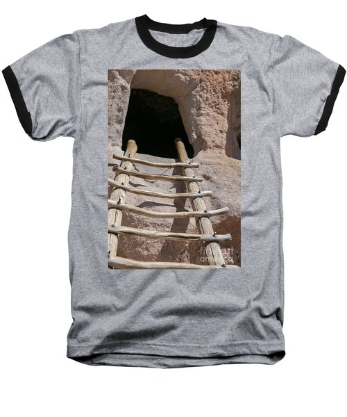 Home In Frijoles Canyon Baseball T-Shirt by Lynn Sprowl