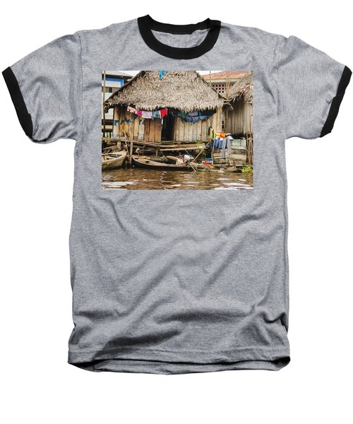 Home In Shanty Town Baseball T-Shirt