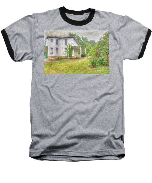 Baseball T-Shirt featuring the photograph Home Is Where The Heart Is by Liane Wright