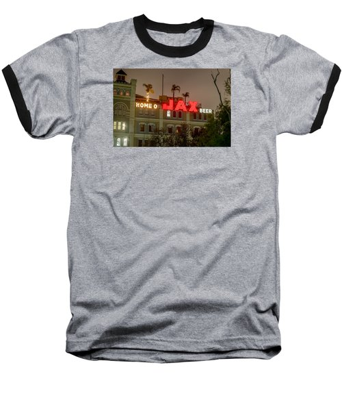 Baseball T-Shirt featuring the photograph Home Of Jax by Tim Stanley
