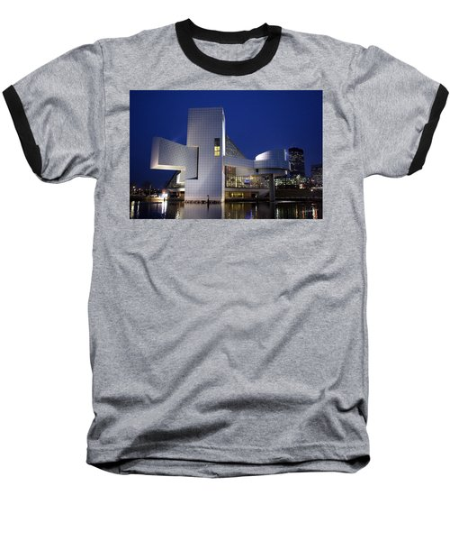 Home Of Rock 'n Roll Baseball T-Shirt