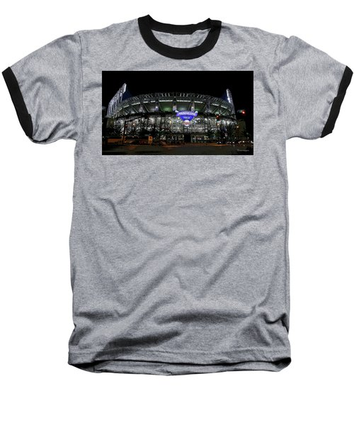 Home Of The Cleveland Indians Baseball T-Shirt by Terri Harper