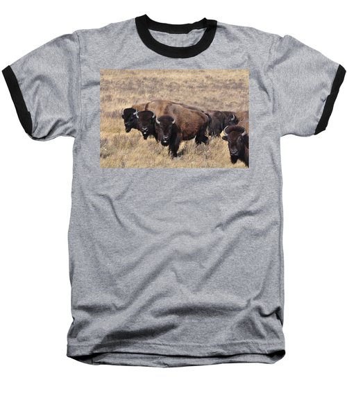 Baseball T-Shirt featuring the photograph Home On The Range by Fran Riley