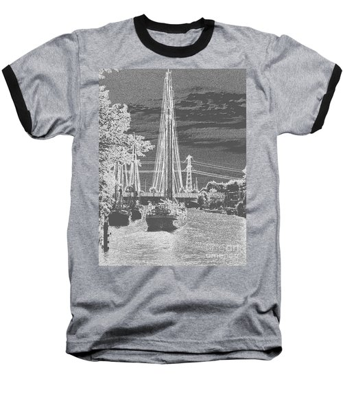 Home Sail Baseball T-Shirt