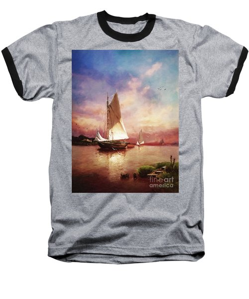 Home To The Harbor Baseball T-Shirt