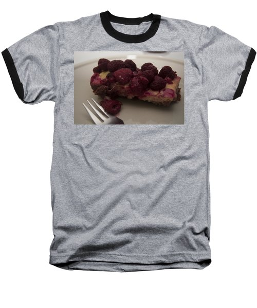 Baseball T-Shirt featuring the photograph Homemade Cheesecake by Miguel Winterpacht