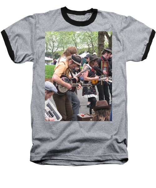 Homestyle Band Baseball T-Shirt by David Trotter
