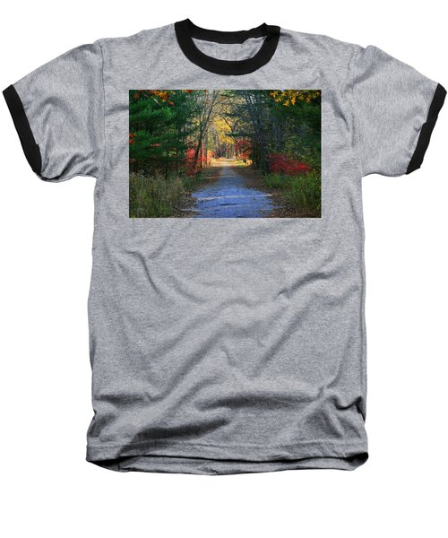 Homeward Bound Baseball T-Shirt by Neal Eslinger