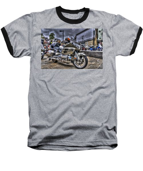 Honda Goldwing 2 Baseball T-Shirt by Steve Purnell