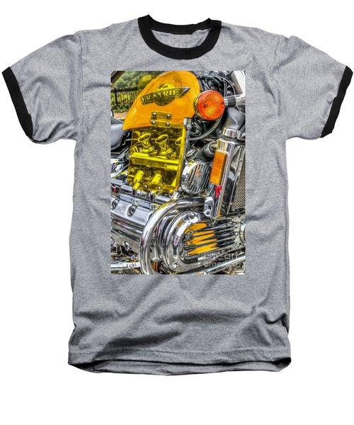 Honda Valkyrie 1 Baseball T-Shirt by Steve Purnell
