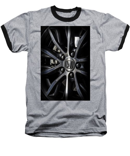 Honda Wheel Baseball T-Shirt