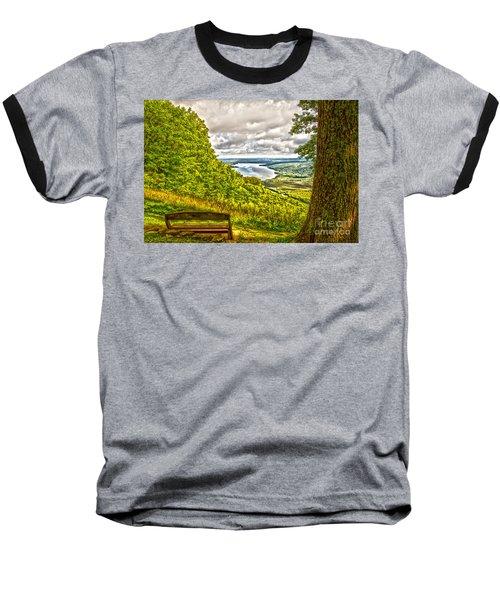 Honeoye Lake Overlook Baseball T-Shirt