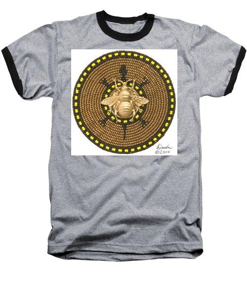 Honey Bee Turtle Baseball T-Shirt
