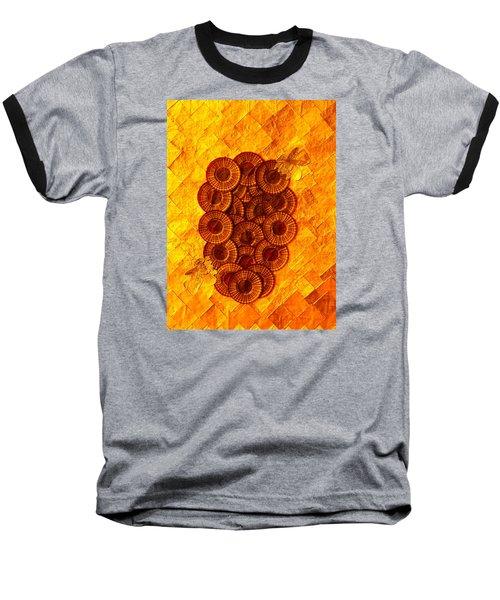 Honeybee 2 Baseball T-Shirt by Lorna Maza