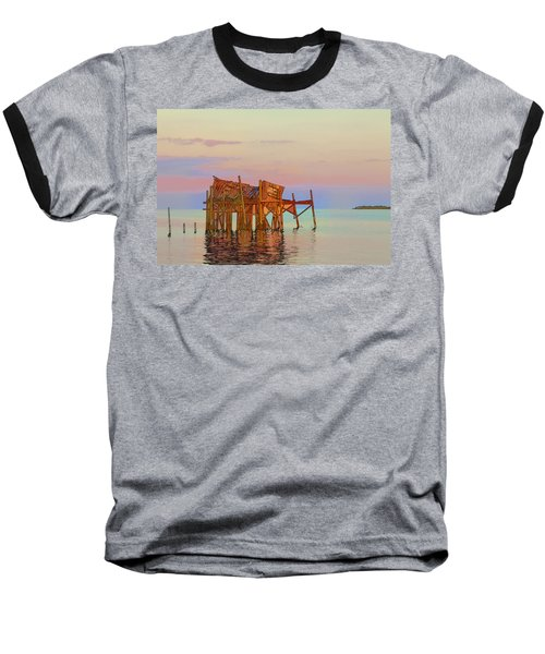 Honeymoon Cottage Baseball T-Shirt