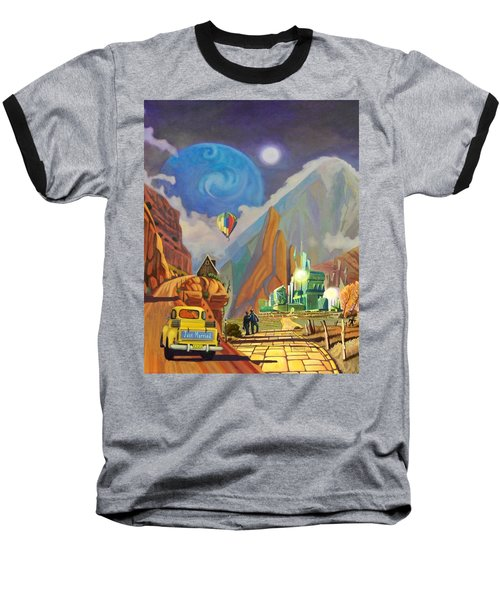 Honeymoon In Oz Baseball T-Shirt