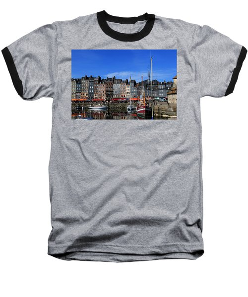 Honfleur France Baseball T-Shirt