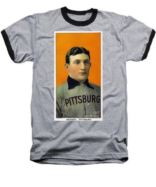 Honus Wagner Baseball Card 0838 Baseball T-Shirt
