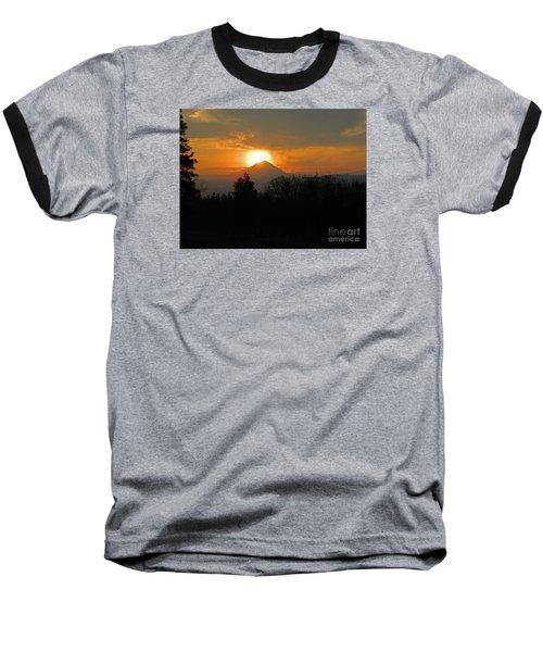 Hood On Fire Baseball T-Shirt