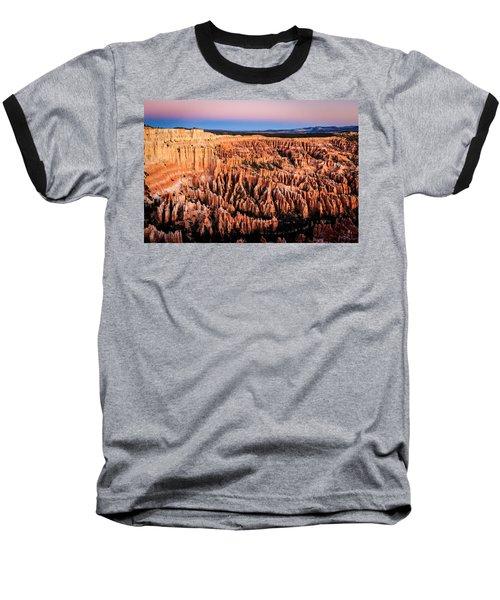Baseball T-Shirt featuring the photograph Hoodoos At Sunrise by Peta Thames