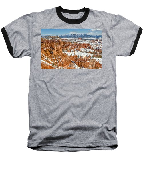 Hoodoos At Sunset Point Baseball T-Shirt