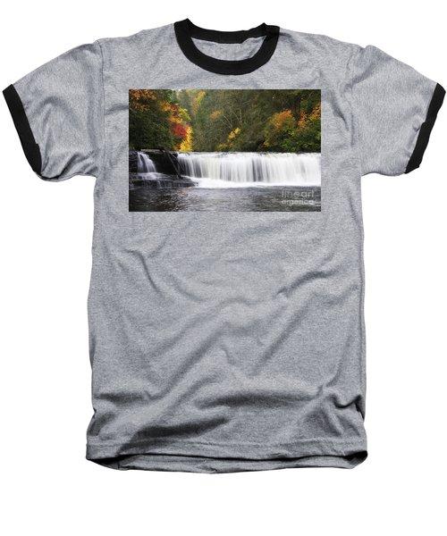 Hooker Falls In North Carolina Baseball T-Shirt